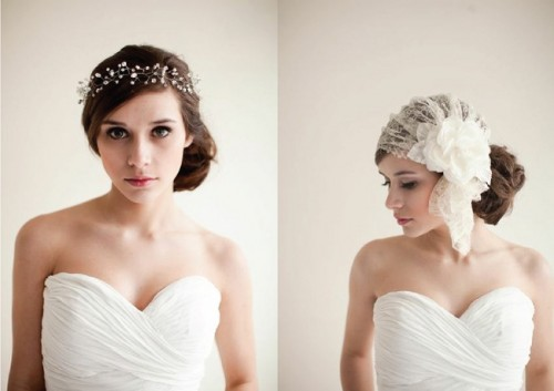Vintage Romance Hairpiece Collection By Melinda Rose Bridal