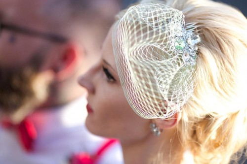 Vintage-Style DIY Birdcage Veil For Brides