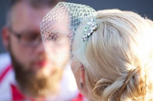 Vintage Style Diy Birdcage Veil For Brides