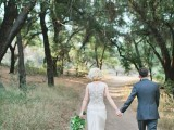 Vintage Woodland California Wedding With Rustic Details