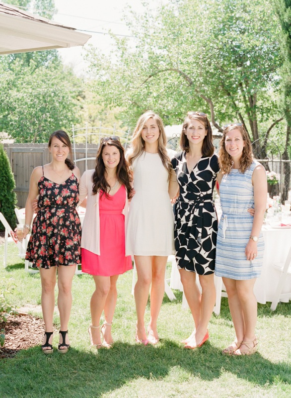 Vivid And Fun Garden Party Bridal Shower