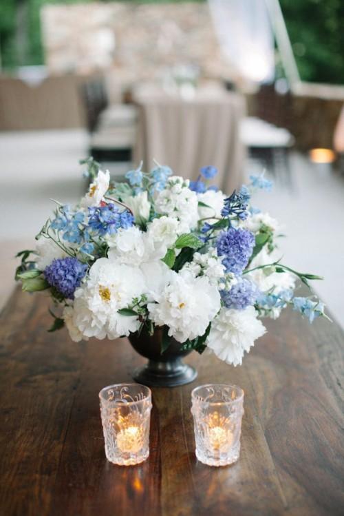 Vivid Summer Wedding Centerpieces