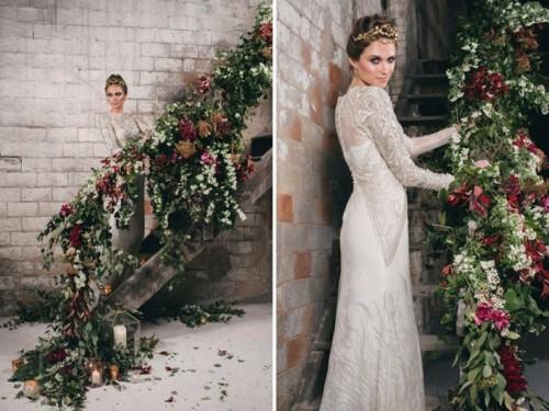 Wedding Dresses Factory 1 Good Watercolor Industrial Wedding Inspiration
