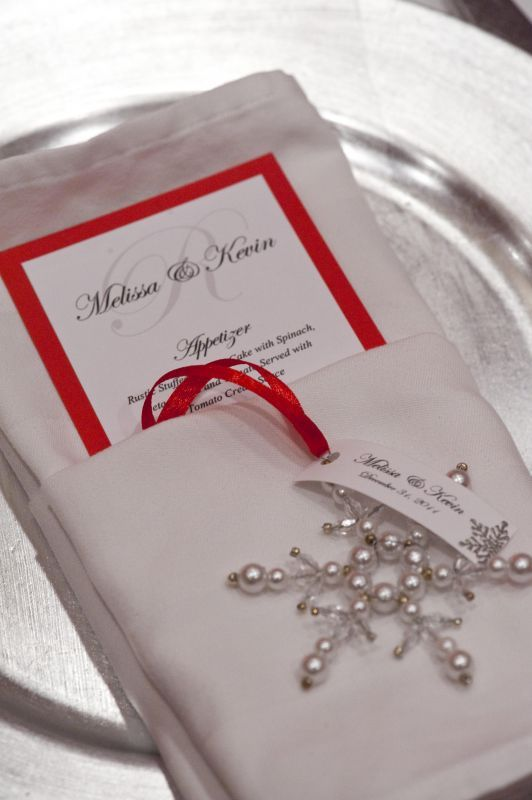 Picture Of Ways To Use Christmas Ornaments For Your Wedding 22