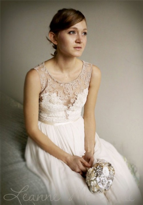 Wearable And Delicate Wedding Dresses By Leanne Marshall