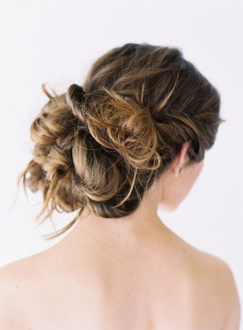 Wedding Updo For Long Hair (via oncewed)