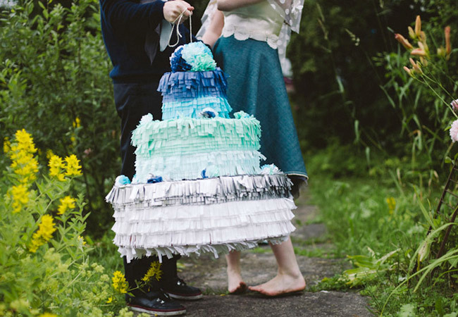 Wedding Pinata Guest Book
