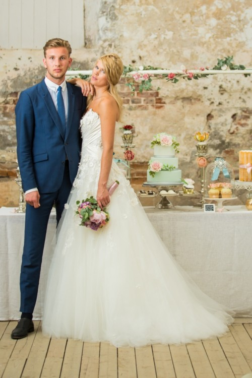 Wedding Theme Inspired By Norwegian Fjords In Spring