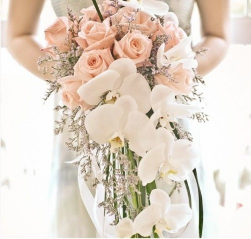Wedding Trend Of 2014 30 Charming Cascade Wedding Bouquets