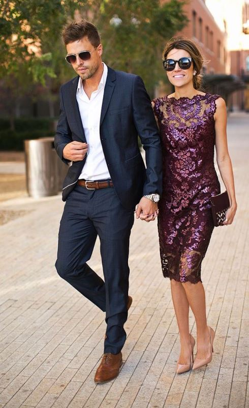Picture Of What To Wear A Fall Wedding 29 Perfect Guests Outfits 5