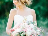 Whimsical And Non Traditional Bridal Shoot With Wearable Floral Art