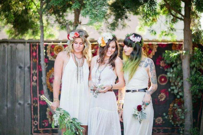 Bohemian Backyard Party : Whimsical Bohemian Backyard Bridal Shower Party ? Photo 3