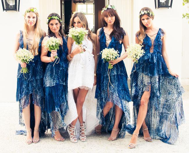 Whimsical Bohemian Capri Wedding Of Italian Vogue Editor