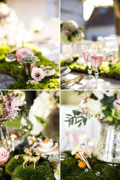 Whimsical French Forest Fairytale Wedding Inspiration