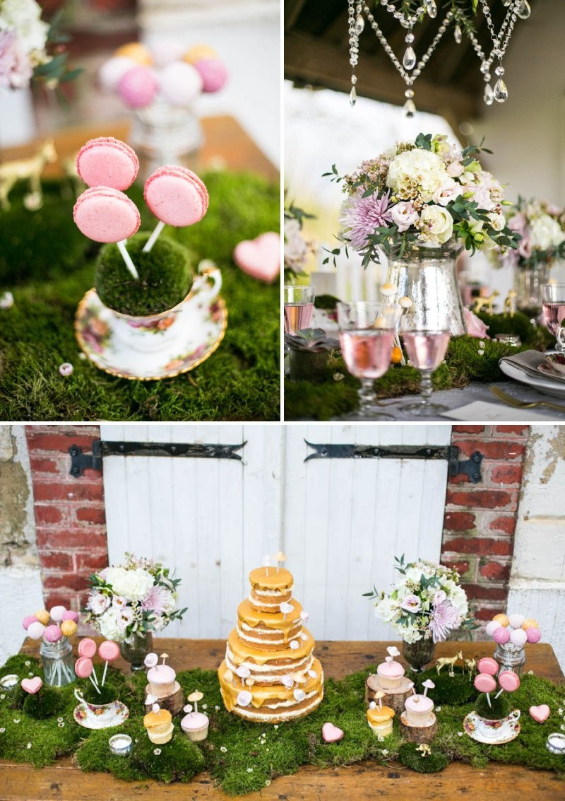 Picture of whimsical french forest fairytale wedding for Whimsical decor