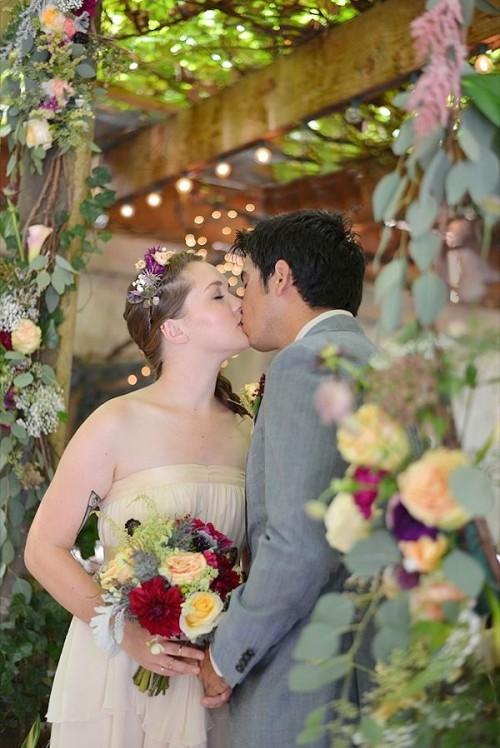 Whimsical Indoor Brooklyn Garden Wedding