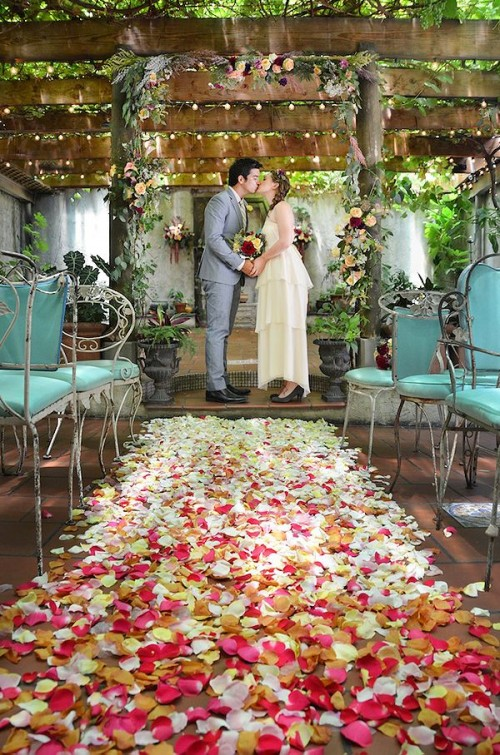 Whimsical Indoor Brooklyn Garden Wedding Weddingomania