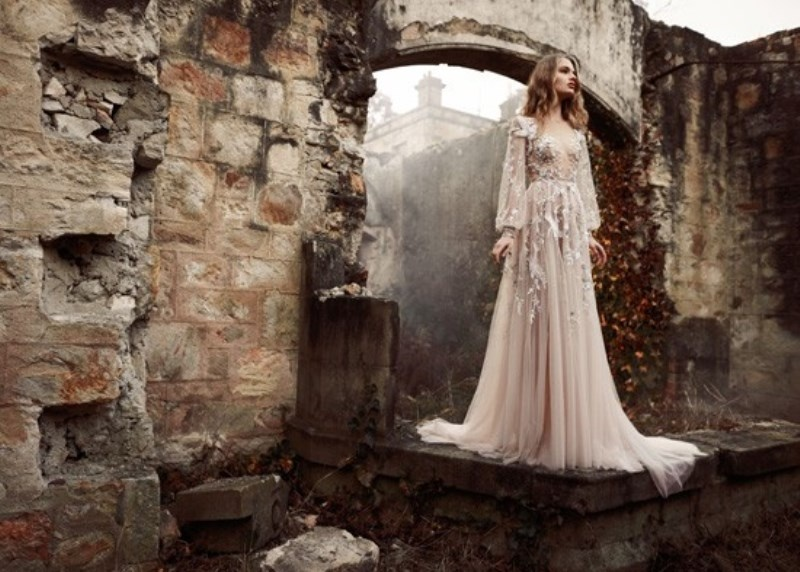 Picture Of whimsical paolo sebastian the nightingale wedding dresses collection  1