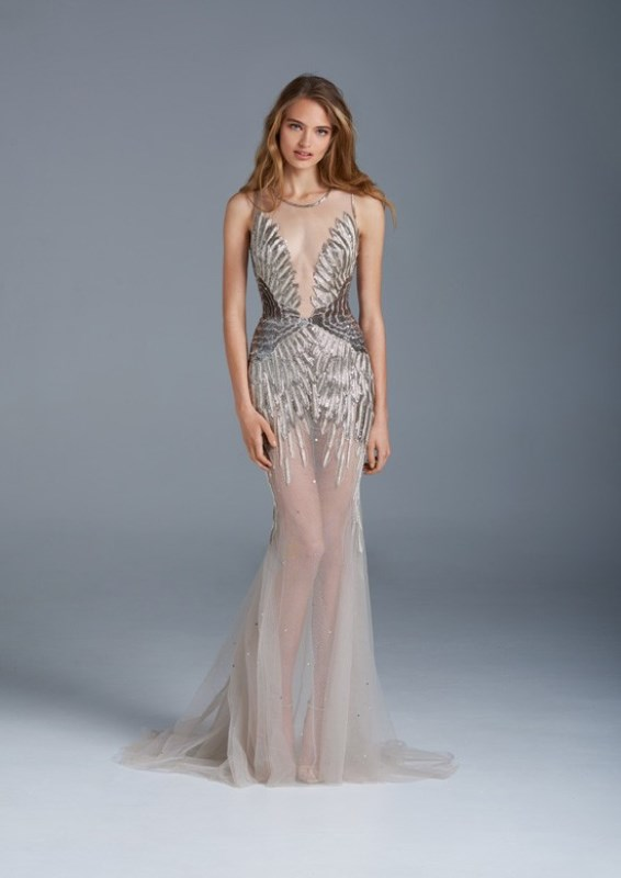 Picture Of whimsical paolo sebastian the nightingale wedding dresses collection  11