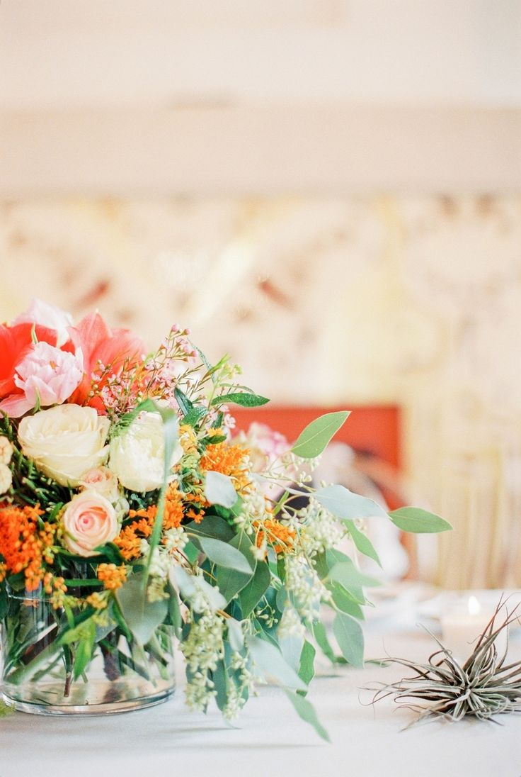 Picture Of whimsical summer wedding with custom silver dress  10