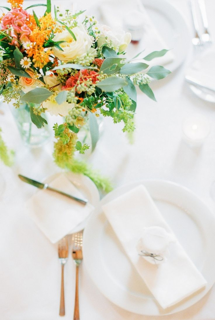 Picture Of whimsical summer wedding with custom silver dress  13