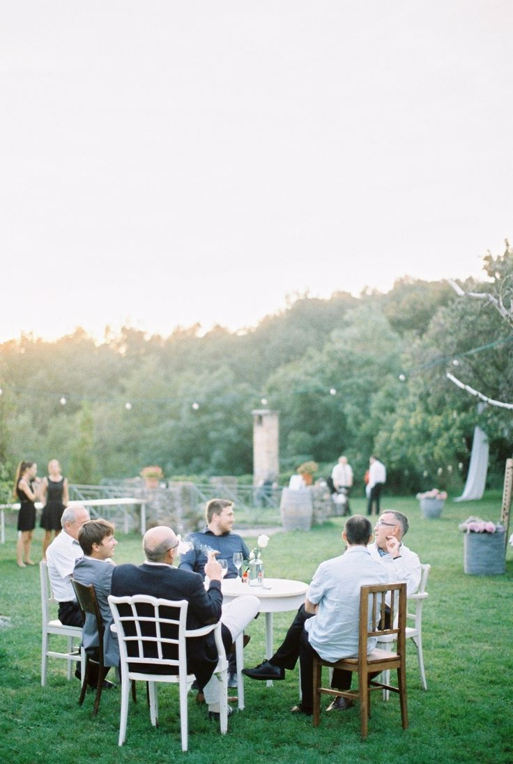 Picture Of whimsical summer wedding with custom silver dress  9