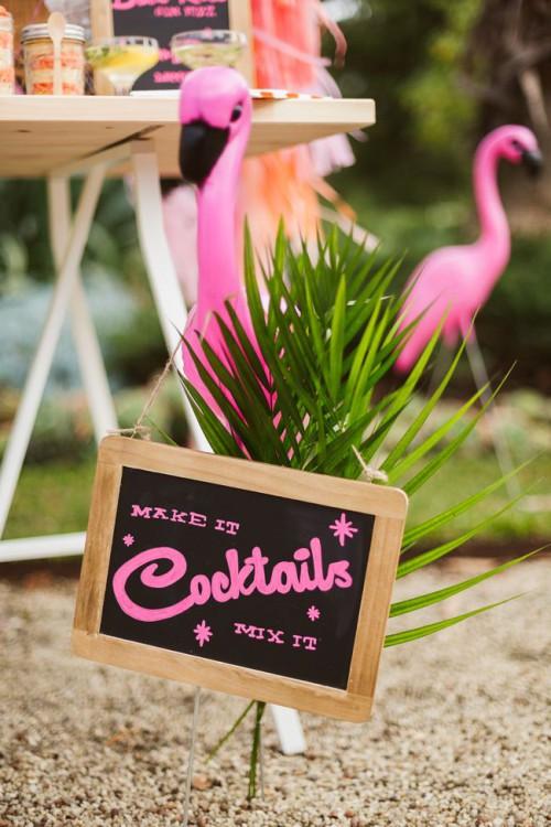 Whimsy And Cheerful Flamingo Wedding Theme Ideas