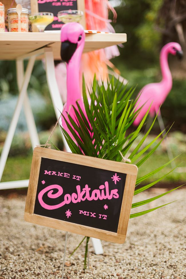 Picture Of whimsy and cheerful flamingo wedding theme ideas  27
