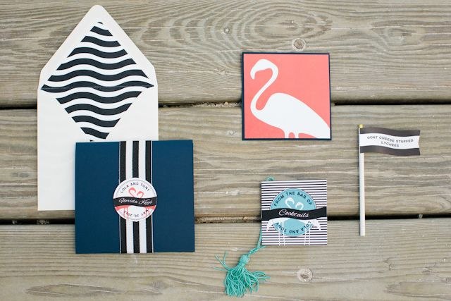 Picture Of whimsy and cheerful flamingo wedding theme ideas  5