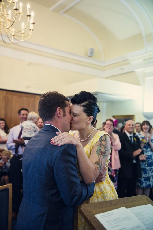 Whimsy And Fun Day Of The Dead Wedding