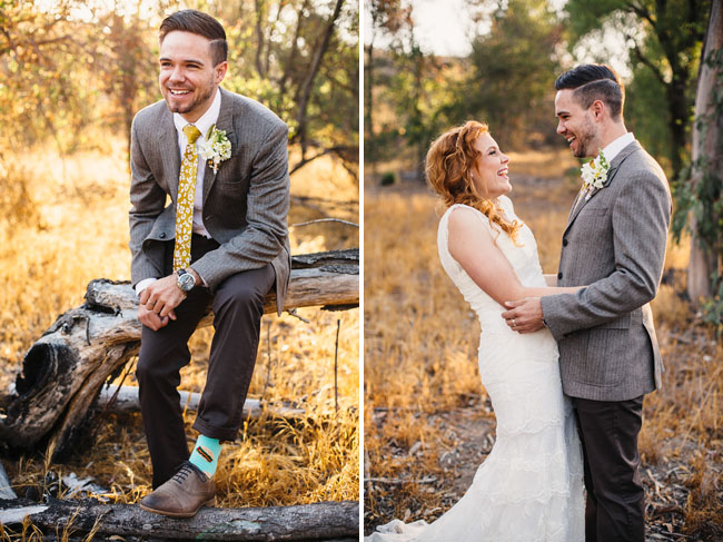 Picture Of whimsy california morning wedding in livley colors  11