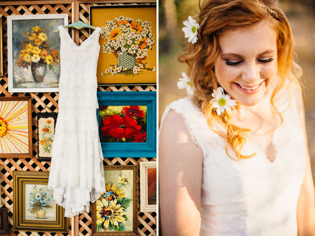 Picture Of whimsy california morning wedding in livley colors  3