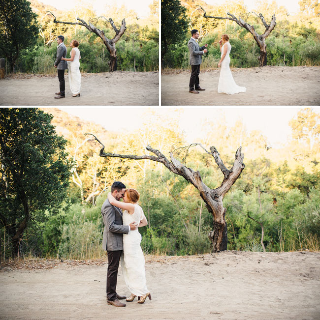 Picture Of whimsy california morning wedding in livley colors  8