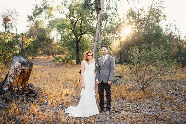 Picture Of whimsy california morning wedding in livley colors  9