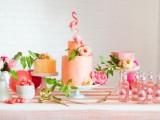 Whimsy Fiery Flamingo Bridal Shower