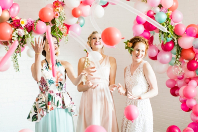 Whimsy Fiery Flamingo Bridal Shower