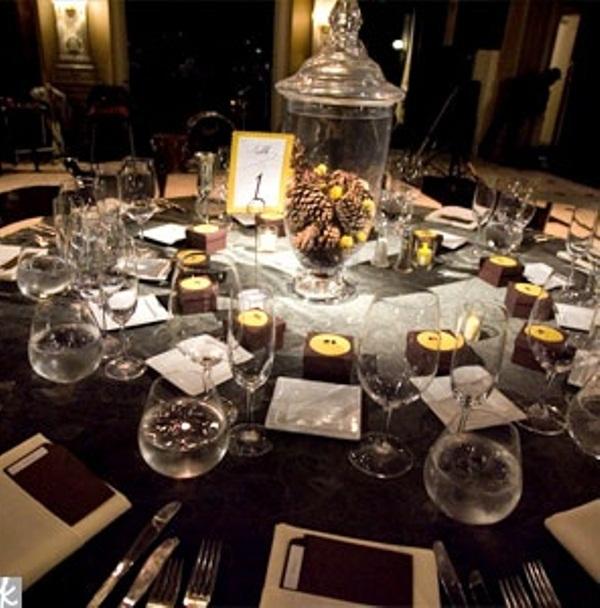 winter wedding table decor ideas - Table Decorating Ideas