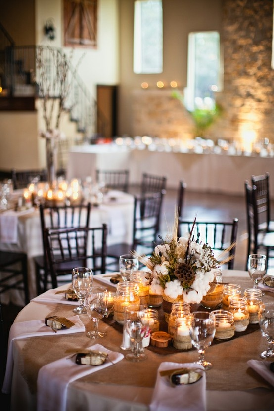 67 winter wedding table décor ideas - weddingomania