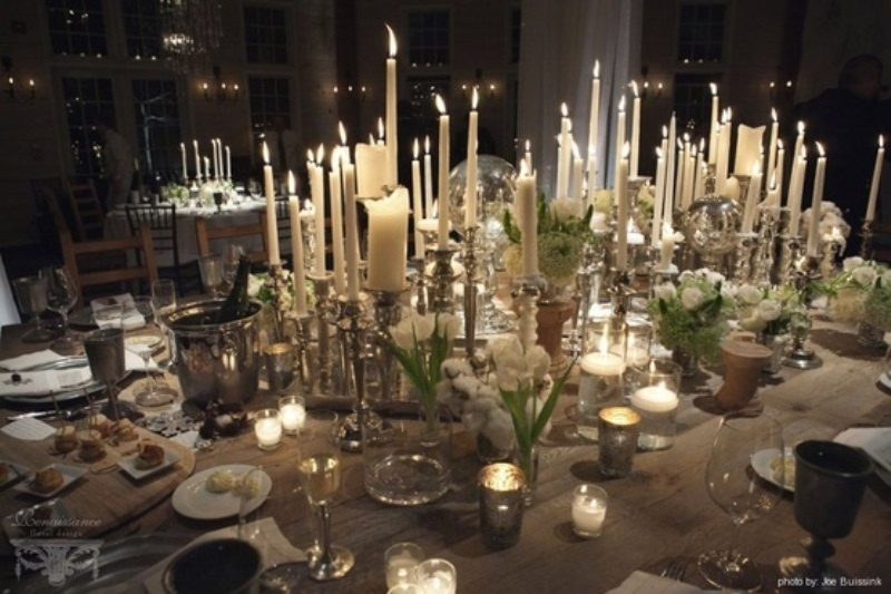 Wedding Design Ideas Winter Wedding Table Decor Ideas