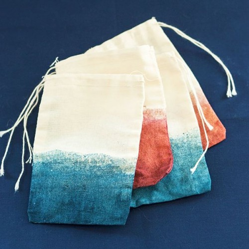 Wonderful Dip Dyed Treat Or Favor Bags