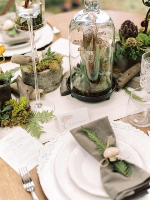 Woodland Rustic Elegance Wedding Inspiration