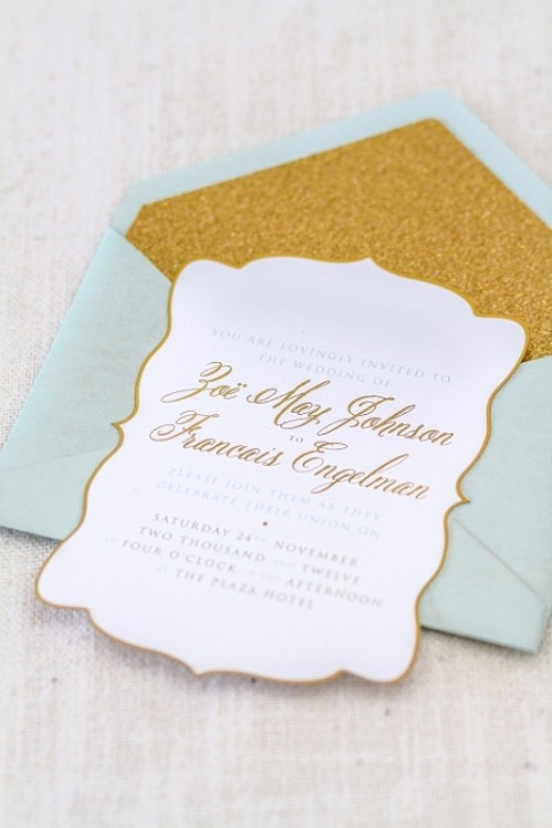 Yellow Mint And Gold Wedding Inspirational Shoot